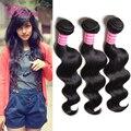 Grau 6A malásia virgem cabelo onda corpo 3 pçs/lote beleza para sempre produtos de cabelo malaio corpo onda barato cabelo Weave 100 g/pc
