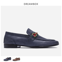 mens loafers leather men shoes sandals genuine spiked loafers men boat driving shoes