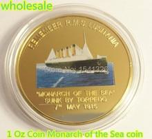 все цены на 2015 NEW!!! 1 Oz Monarch Coin R.M.S. LUSITANIA