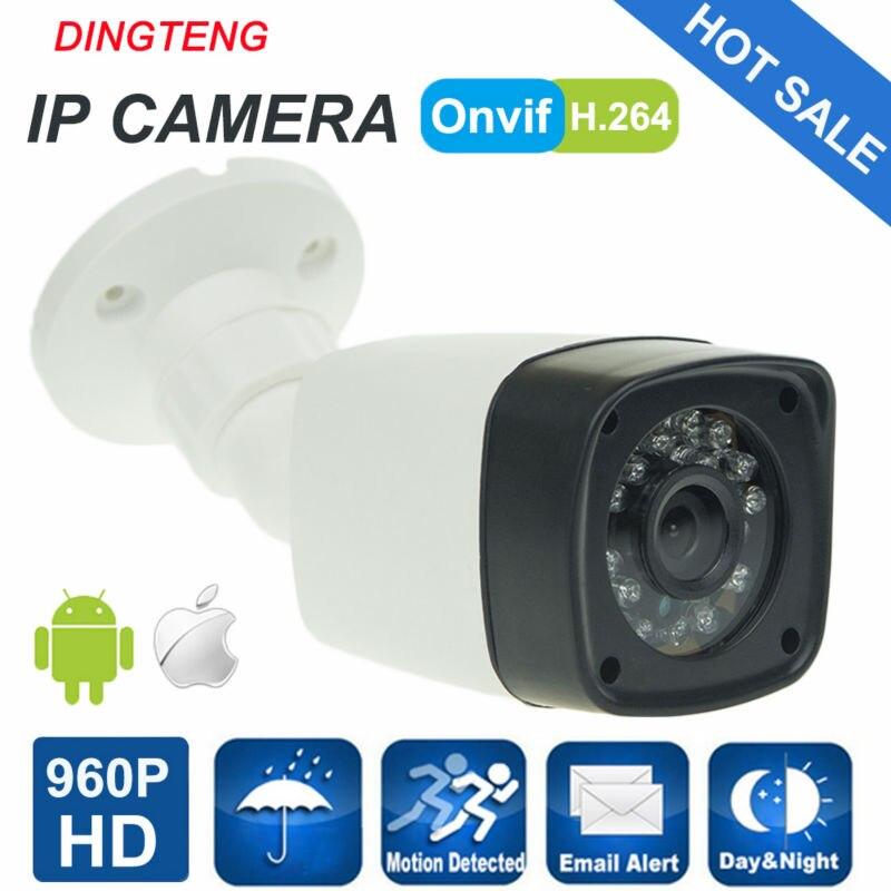 960P IP Camera Outdoor Cam HD Security CCTV Camera Bullet ONVIF Waterproof Night Vision IR Cut P2P ONVIF ABS Plastic poe ip camera 720p 960p 1080p hd outdoor bullet cam ir nightvision cctv security camera onvif p2p android iphone xmeye view