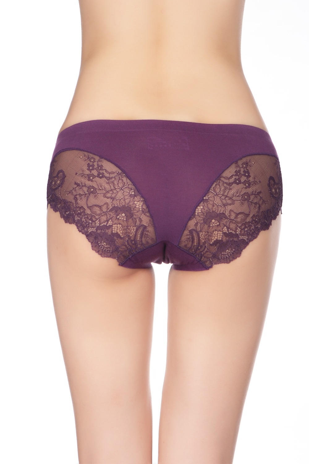 2014 new ladies' sexy lace seamless panties ladies'bamboo fiber
