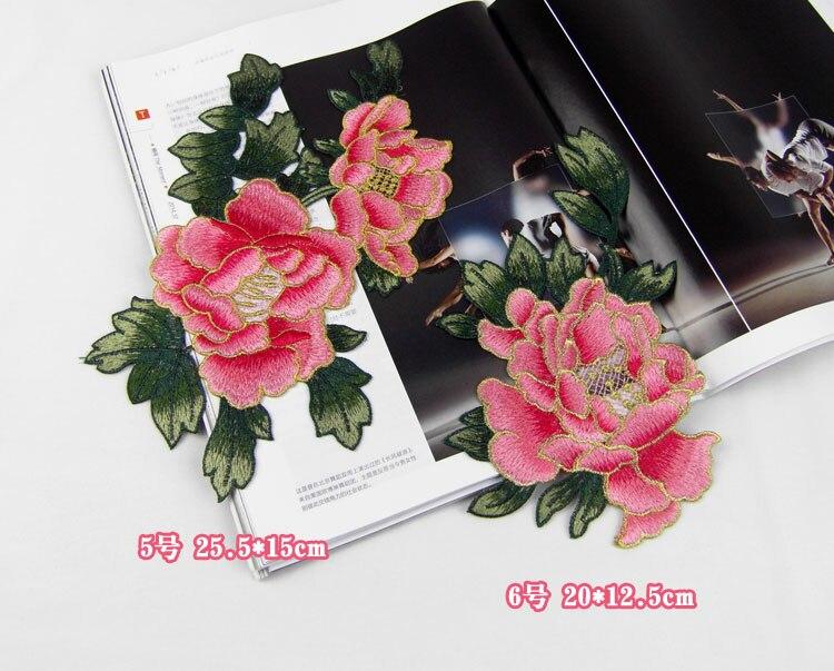 Yüksek Kaliteli Nakış çiçek yamalar bez yapıştırın güzel - Sanat, el sanatları ve dikiş - Fotoğraf 4