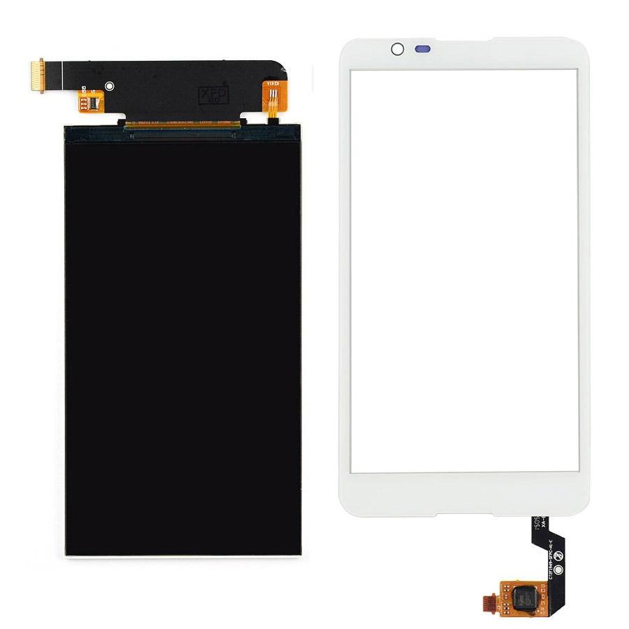 цены  white Touch Screen Digitizer Glass Sensor + LCD Display Panel Screen For Sony Xperia E4 E2104 E2105 E2115 E2124 Free Shipping