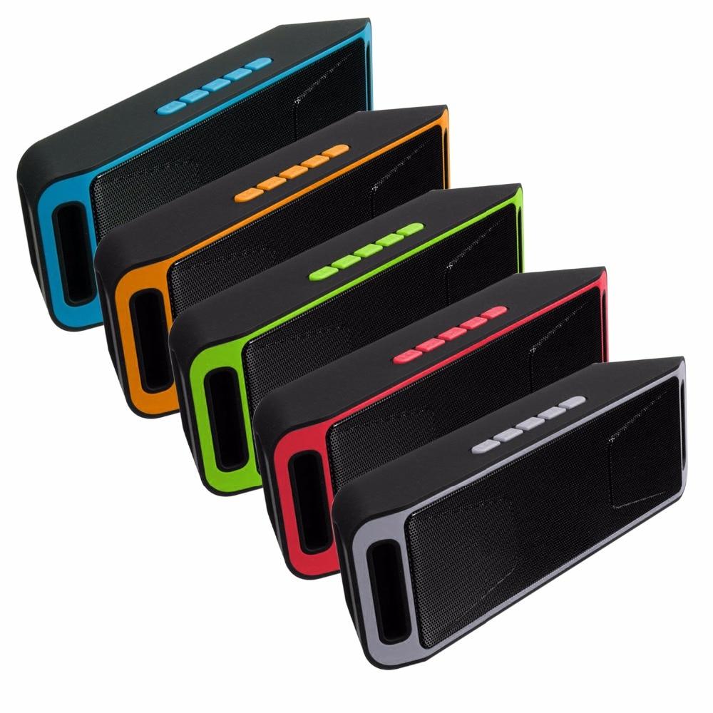 sc208 Bluetooth 4 0 Portable Wireless Speaker TF USB FM Radio Dual Bluetooth Speaker Bass Sound