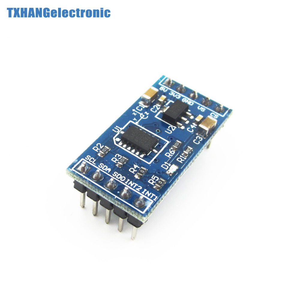 Integrated Circuits 3 axis Digital Gravity Sensor ADXL345 Acceleration Module Tilt Sensor For Arduino adxl345 accelerometer