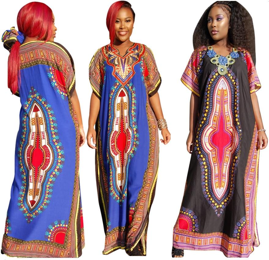 dashiki women summer maxi dress 2016 african print dresses plus