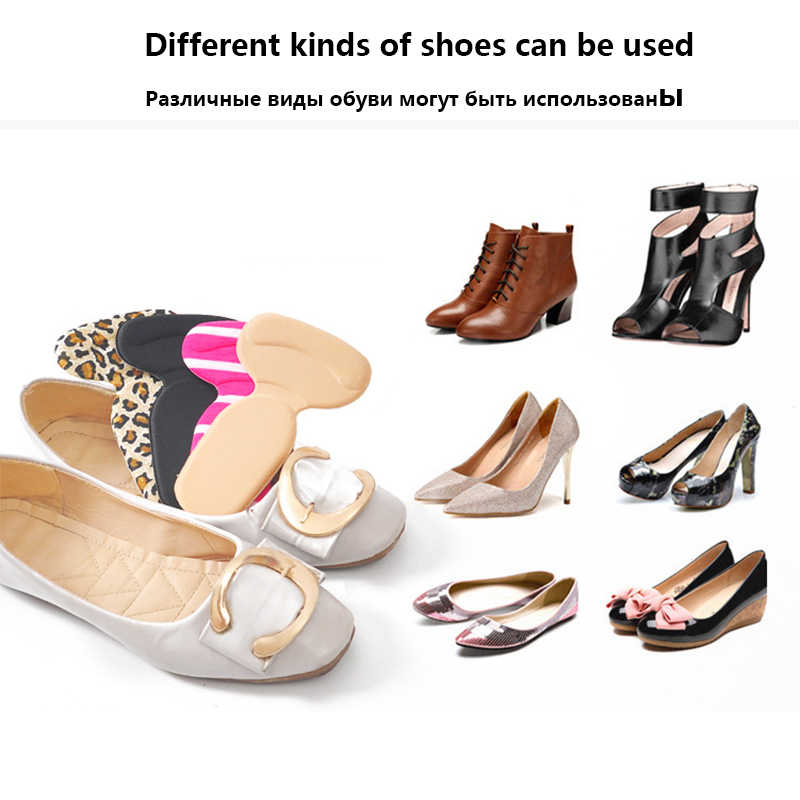 02eeb16aa52 1 Pair Soft T-Shape High Heel Grips Liner Arch Support Orthotic Shoe  Inserts Insoles Foot Heel Protector Cushion Pads for Women