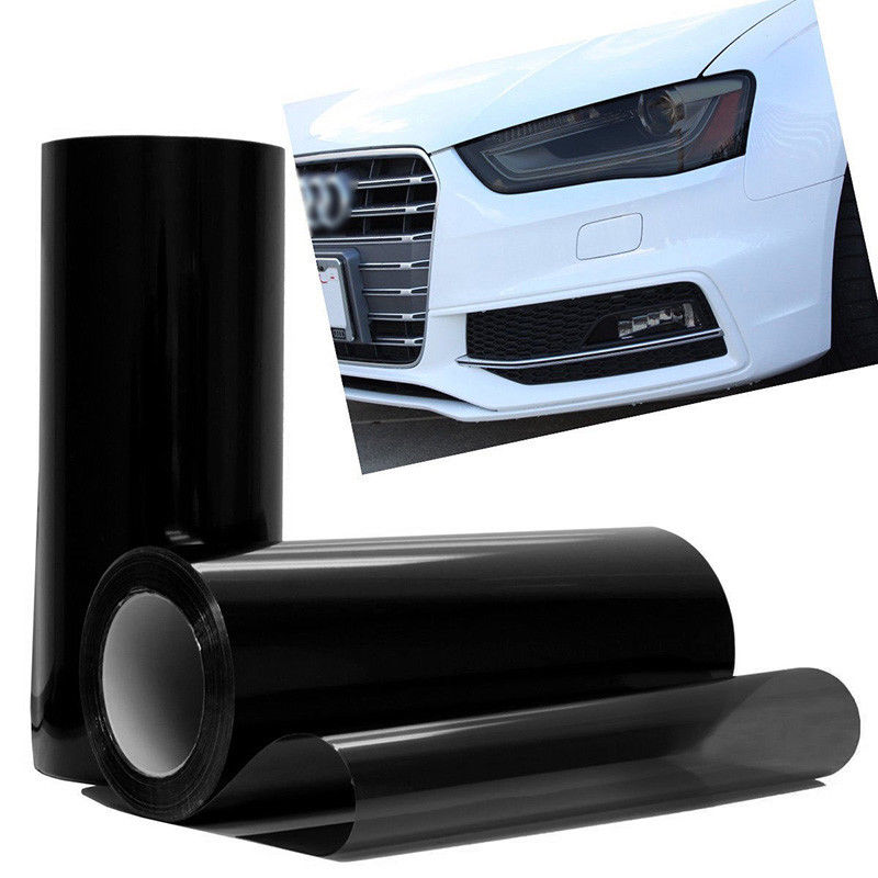 Image 5 - New Arrival 1pc 30*60CM PVC Car Vehicle Headlight Tail Light Vinyl Film Wrap Sticker Decal 5 Colors-in Car Stickers from Automobiles & Motorcycles