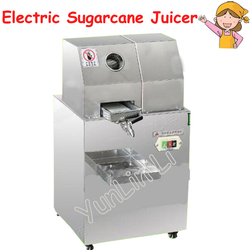 Electric Sugarcane Juicer Stainless Steel Sugarcane Squeezer Cane-Juice Machine Cane Sugar Juice Extractor SXC-80 все цены