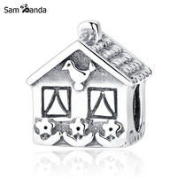 New 1pc Authentic 100 925 Sterling Silver Bead European Love Family Home Sweet Home Charm Fit