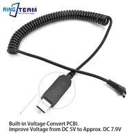 -PS700 CA-PS700 USB Cables de alimentación para Canon EOS Rebel PowerShot S1 S2 S3 S5 SX1 SX10 SX20 es Elura 40MC 50 60 65 70 80 IXY DV3