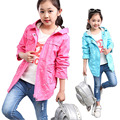 2017 New Girls Spring And Autumn Sports Coat Kids Hoodies Coat Children's Clothing Baby Girl Fashion Dust Coat