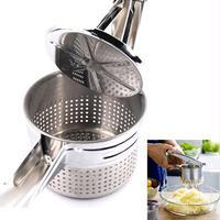New Stainless Steel Potato Masher Ricer Puree Fruit Vegetable Juicer Press Maker [category]