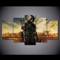 canvas art Printed Green Arrow Man TV series Painting Canvas Print room decor print poster picture canvas unframed