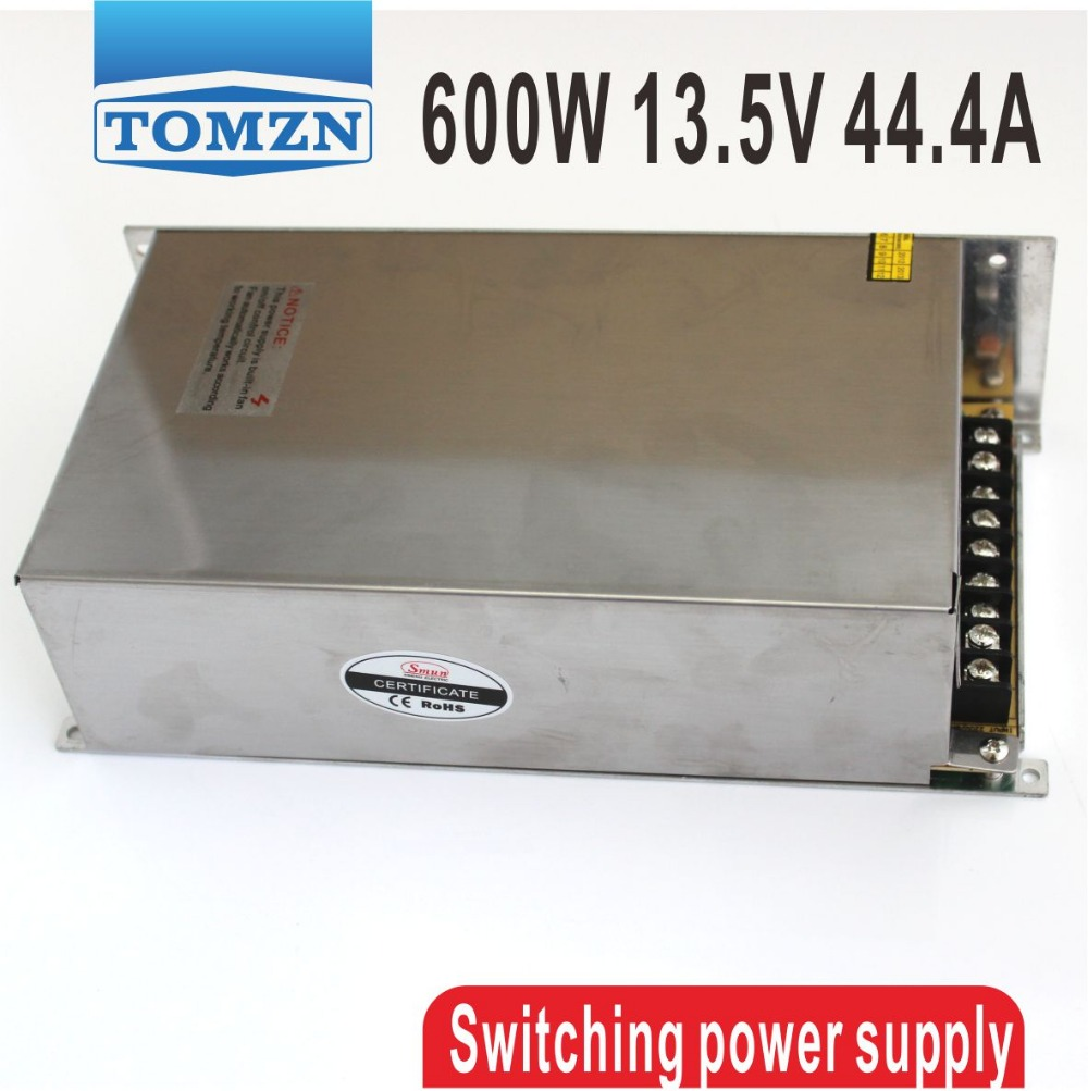 ФОТО 600W 13.5V 44.4A 220V input Single Output Switching power supply AC to DC