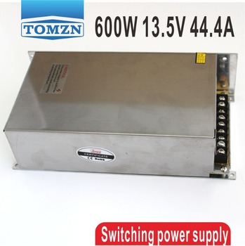 600W 13.5V 44.4A 220V input Single Output Switching power supply AC to DC