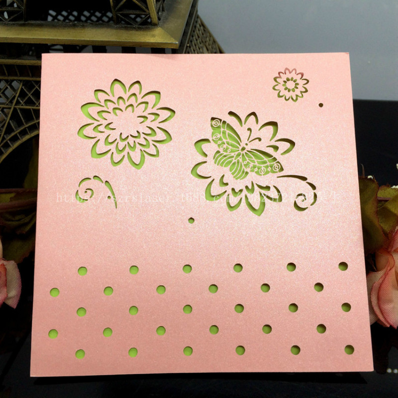 50 Pcs Laser Cutting Blank Greeting Cards Postcards Lover Gift ...