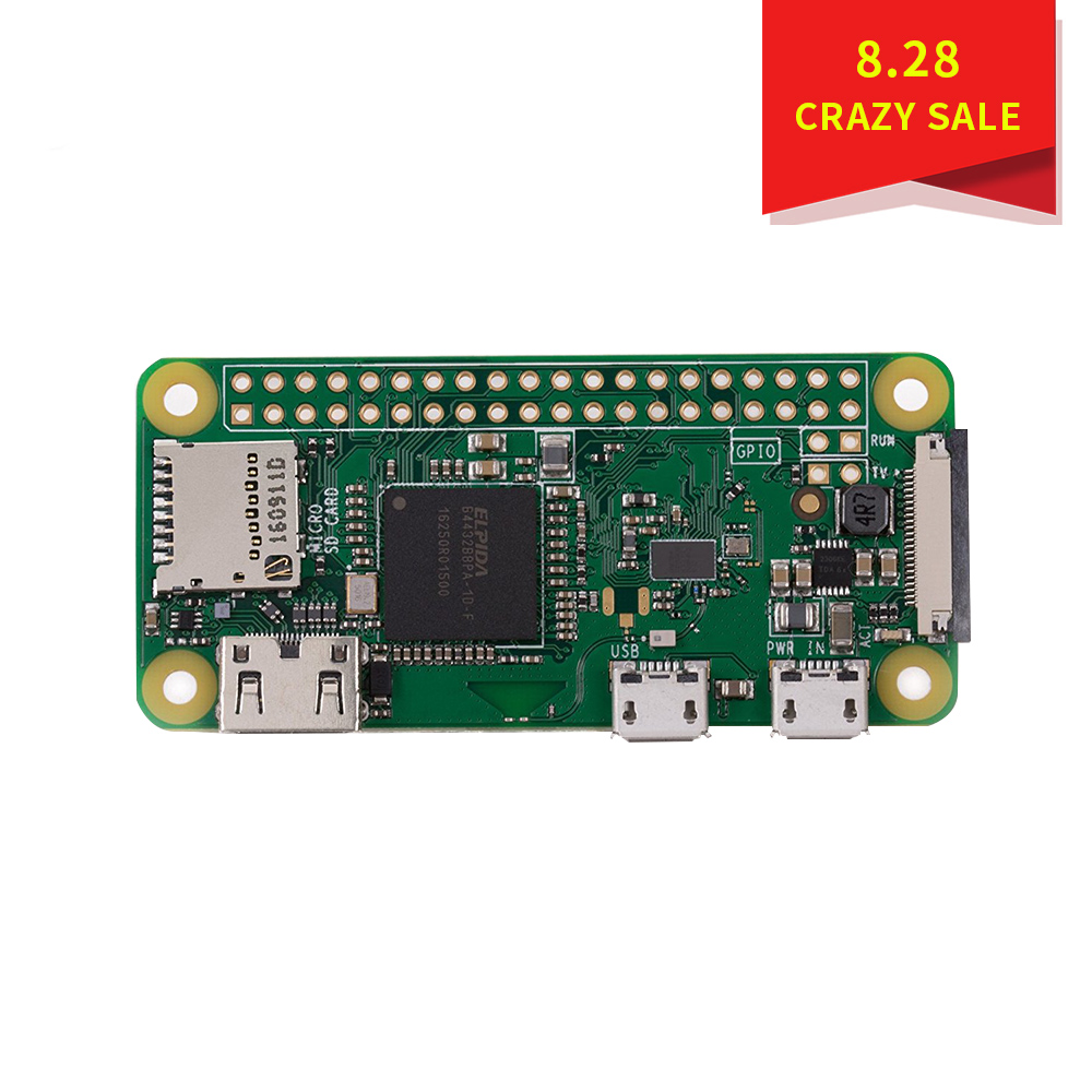 Raspberry Pi Zero W (Wireless) (new 2017 Model)