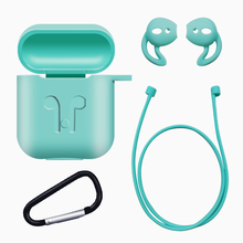 Cute Airpods Case Bluetooth Headphones Box Apple Airpods Wireless Accessories Case for Air Pods Stand Headset Holder LMYXC601