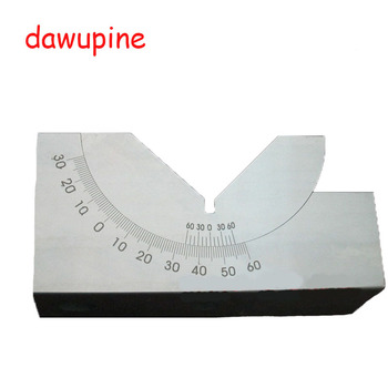 dawupine KP46 Adjustable Angle Gauge Milling Machine Adjustable Angle Block Grinding Machine Pad Grinder Accessories Angle Plate