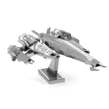 Mass Effect Ssv Normandy Sr2 Fun 3d Metal Diy Miniature Model Kits Puzzle Toys Children Educational Boy Splicing Science Hobby