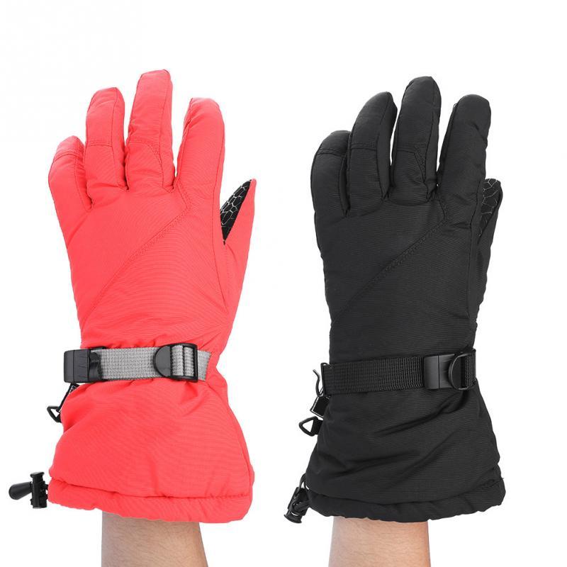Ski-handschuhe ZuverläSsig Herren Ski Handschuhe Anti-proof Snowboard Handschuhe Schneemobil Motorrad Reiten Winter Handschuhe Winddicht Wasserdicht Unisex Schnee Handschuhe Mild And Mellow
