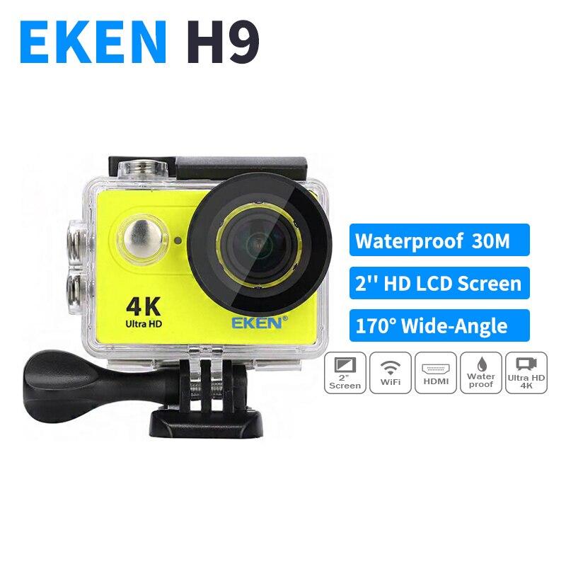 """Prix pour Camera Action Deportiva D'origine Eken H9 Ultra HD 4 K WiFi 1080 P 60fps 30 M sport 2.0 """"Écran H9 Aller Pro Étanche Sport Caméra"""