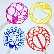 Jumbo Bubble Wand забавные пузырьки на открытом воздухе вечерние игрушки для детей