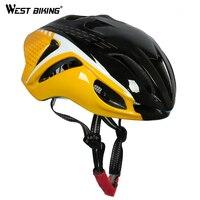 WEST BIKING Cycle Bike Bicycle Helmet Road Mountain Adjustable Carbon 12 Vents Men Women Bike Bicycle