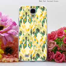 1304Q Des Integrated font b Tartan b font Pattern Hard Transparent Cover Case for Galaxy S2