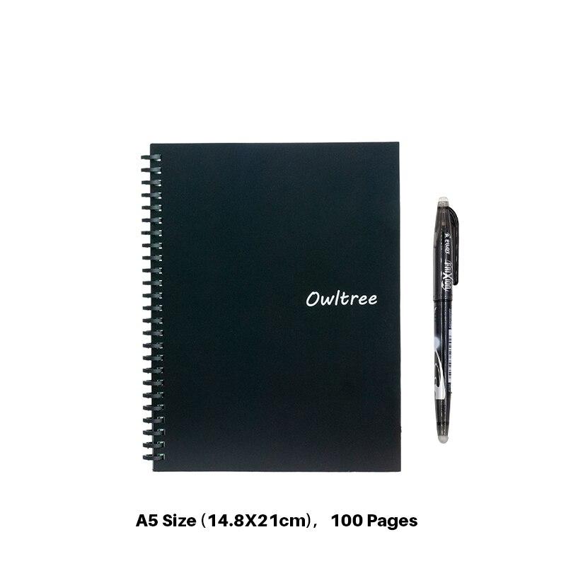 Black A5 Size