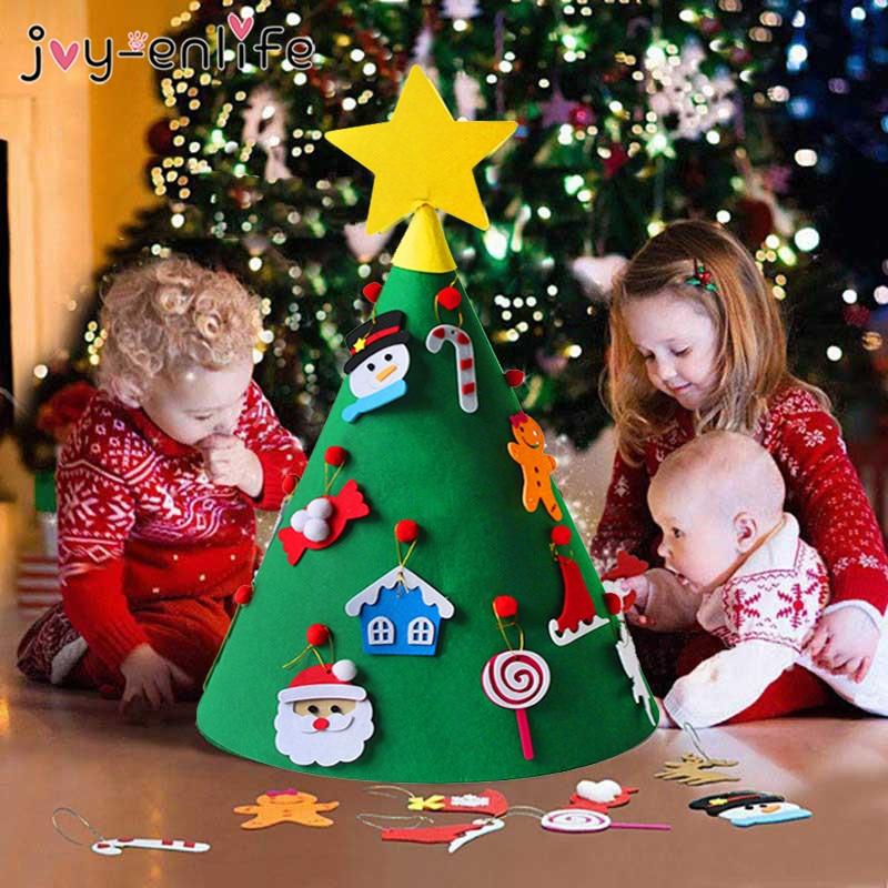Joy Enlife 3d Felt Artificial Christmas Tree Mini