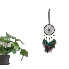 Flying Wind Chimes Lace Dream Catcher Feather Bead Hanging Decoration Pendant Creative Ornament Gift Handmade Gifts