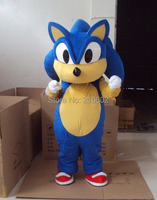 cosplay costumes New Professional Sonic Hedgehog Mascot Costume Fancy Dress Adult Size