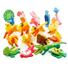 Model Building Kits 3D Three-dimensional Animal Jigsaw Puzzle Toys DIY Baby Kids Handmade Wooden Toys Assembling Educational