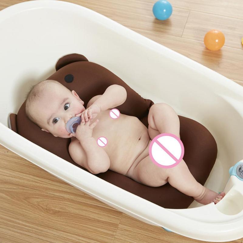 Mutter & Kinder Praktisch Neugeborenen Baby Dusche Tragbare Air Kissen Bett Bad Pad Non-slip Badewanne Matte Non-slip Badewanne Matte Neugeborenen Sicherheit Sicherheit Bad SorgfäLtige FäRbeprozesse