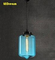Italiaanse designer art kroonluchter creatieve restaurant glazen kroonluchter slaapkamer lampen en lantaarns lamp transparant Nordic bar
