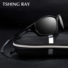 83cd141f37 TSHING RAY Brand Men s Sunglasses TR90 Men Sports Sun Glasses Travelling  Driving Polarized Shades Male Outdoor