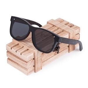 Image 5 - BOBO BIRD Sunglasses Men Brand Luxury Square Polarized Wood Sun Glasses Driving Eyewear UV400 Oculos De Sol Gafas