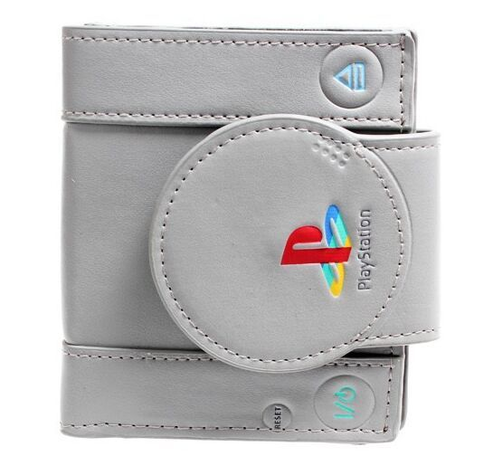 sony playstation wallet Console Shaped Bifold Wallet Official with Tag 10pcs/lot