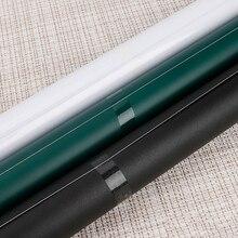 60x200 см ПВХ водонепроницаемая доска наклейка подвижная детская граффити доска для письма(черный зеленый белый) Мел бесплатно для обучения