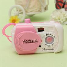 1 шт. Милая мини-камера для моделирования, детская игрушка для раннего моделирования, креативная пластиковая камера разных цветов, Детские Подарочные игрушки