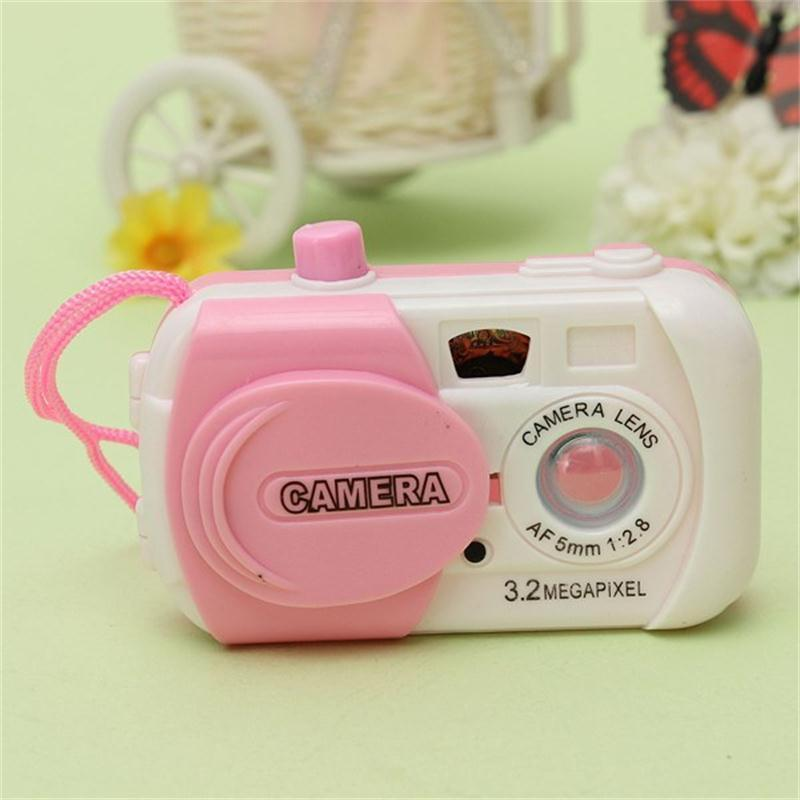 1 Pcs Cute Mini Simulation Camera Kids Toy  Early Projection Simulation Camera Creative Plastic  Random Color Children Gift Toys