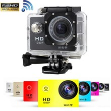 Wifi W9 4k 1080P Action Camera with 1050mAh Battery  Digital Waterproof Video Sport Cameras Camcorder