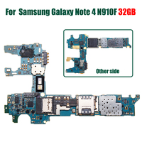 LEORY Original Main Motherboard Replacement For Samsung for Galaxy Note 4 N910F 32GB Unlocked Europe Clean Imei