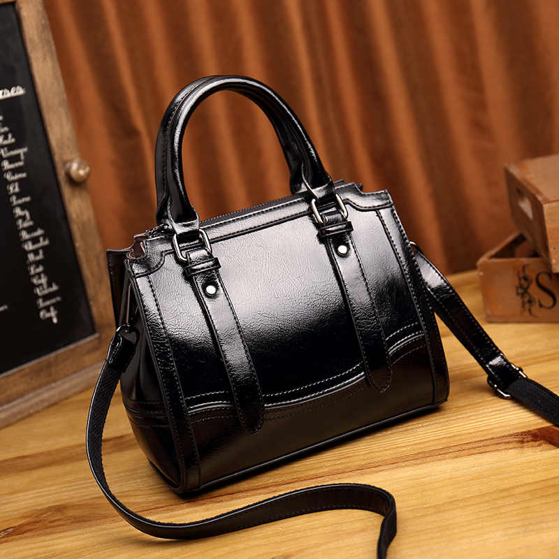 Vintage Tote Bags Genuine Leather Women Handbags High Quality Multi-functional Women Leather Bags Mochila Bolsas Casual new T49