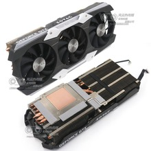 цена на New Original for ZOTAC GTX1080Ti AMP EXTREME Graphics card cooler fan with heat sink
