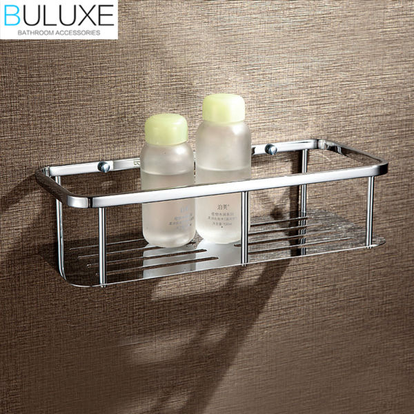 buluxe brass bathroom corner shelf wall mounted prateleira bath shower caddy storage holder bathroom accessories hp7730