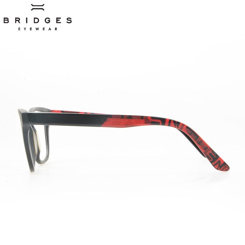 BRIDGES EYEWEAR Vintage Qadın Eynək Çərçivələri Qırmızı - Geyim aksesuarları - Fotoqrafiya 3