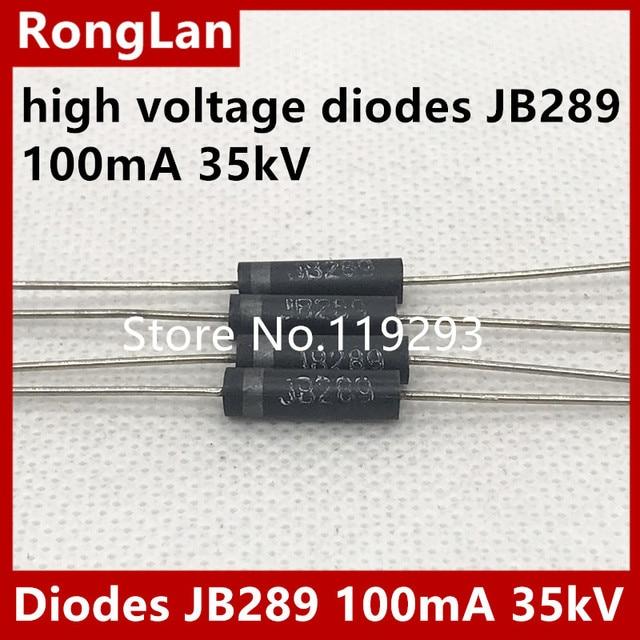 [BELLA] high voltage high voltage diodes JB289 JB289 100mA 35kV high voltage silicon stack--20pcs/lot